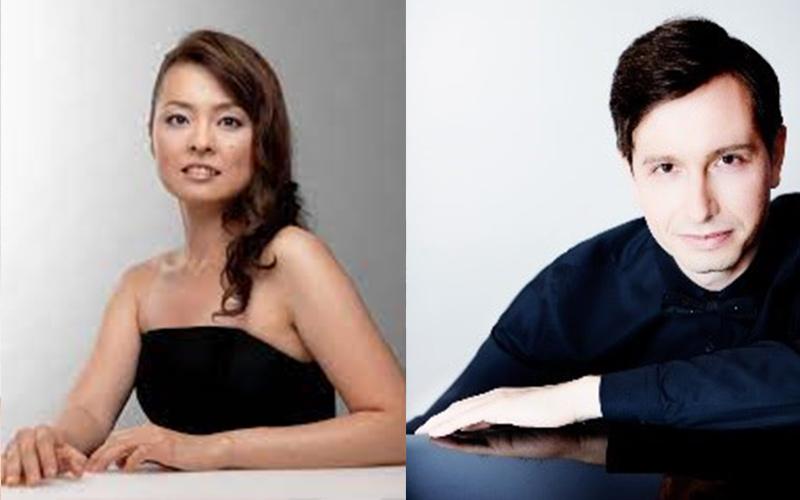 07. November 2021 um 18:00 Uhr in MÜNSTER | Klavierabend mit Junna Iwasaki & Alexey Sychev