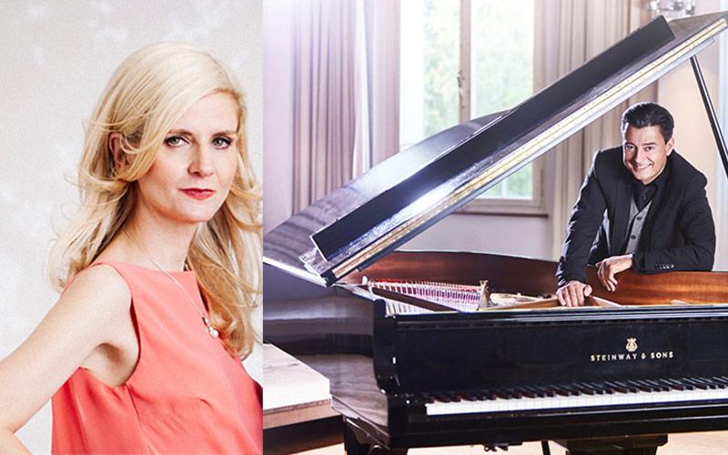 10. September 2021 um 20:00 Uhr   Klavierabend mit den Pianisten Ines Walachowski & Holger Blüder
