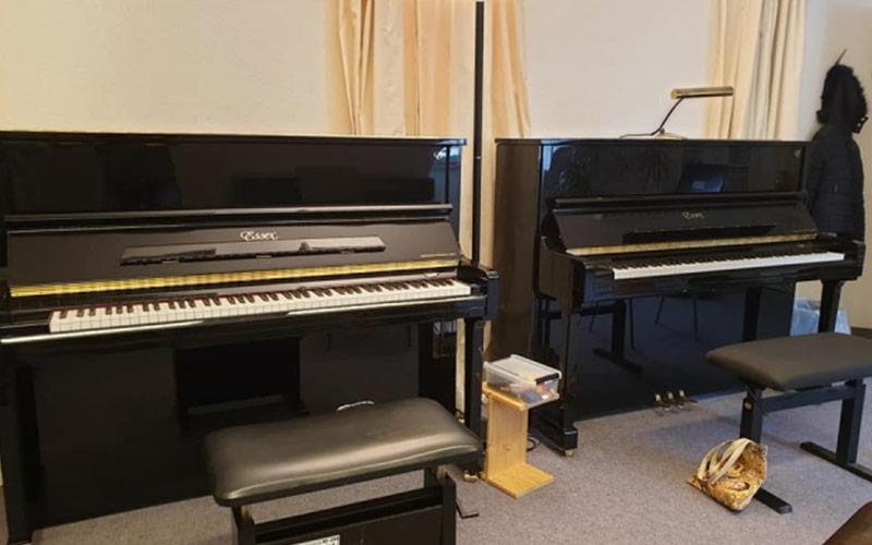 Vier Klaviere für die Musikschule Beckum-Warendorf